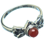 Red Onyx Rings handcrafted by Ana Silver Co - RING20232