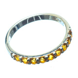 Citrine Rings handcrafted by Ana Silver Co - RING21090