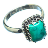 Malachite Rings handcrafted by Ana Silver Co - RING21491