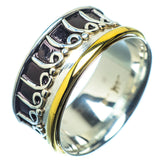 Meditation Spinner Rings handcrafted by Ana Silver Co - RING21630
