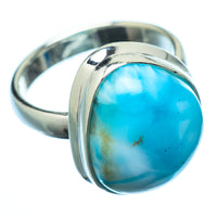 Larimar Rings handcrafted by Ana Silver Co - RING21690