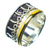 Meditation Spinner Rings handcrafted by Ana Silver Co - RING21778