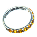 Mandarin Citrine Rings handcrafted by Ana Silver Co - RING24198