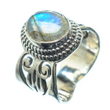 Labradorite Rings handcrafted by Ana Silver Co - RING24479
