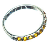 Citrine Rings handcrafted by Ana Silver Co - RING25346