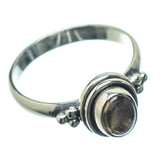 Smoky Quartz Rings handcrafted by Ana Silver Co - RING25629
