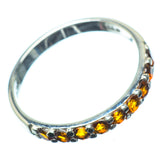 Citrine Rings handcrafted by Ana Silver Co - RING27658