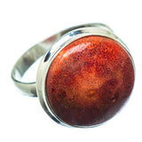 Sponge Coral Rings handcrafted by Ana Silver Co - RING27854