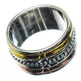 Meditation Spinner Rings handcrafted by Ana Silver Co - RING27928