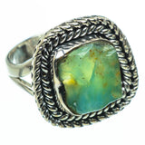 Peruvian Opal Rings handcrafted by Ana Silver Co - RING29616