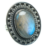 Labradorite Rings handcrafted by Ana Silver Co - RING29863