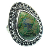 Azurite Rings handcrafted by Ana Silver Co - RING31109