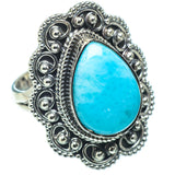 Larimar Rings handcrafted by Ana Silver Co - RING32435