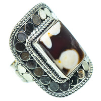 Peanut Wood Jasper Rings handcrafted by Ana Silver Co - RING33668