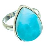 Larimar Rings handcrafted by Ana Silver Co - RING33876