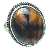 Chiastolite Rings handcrafted by Ana Silver Co - RING34393