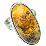 Picture Jasper Rings handcrafted by Ana Silver Co - RING34522