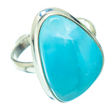 Larimar Rings handcrafted by Ana Silver Co - RING34903