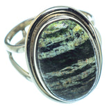 Lizard Jasper Rings handcrafted by Ana Silver Co - RING37800