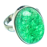 Green Aventurine Rings handcrafted by Ana Silver Co - RING39097