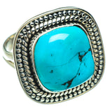 Tibetan Turquoise Rings handcrafted by Ana Silver Co - RING44769