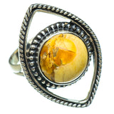 Brecciated Mookaite Rings handcrafted by Ana Silver Co - RING44780