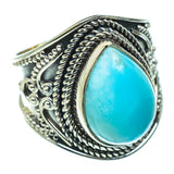 Larimar Rings handcrafted by Ana Silver Co - RING47593