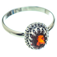 Garnet Rings handcrafted by Ana Silver Co - RING52595