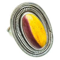 Mookaite Rings handcrafted by Ana Silver Co - RING52944