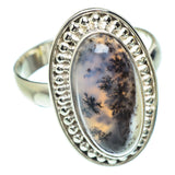 Dendritic Opal Rings handcrafted by Ana Silver Co - RING53005