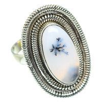 Dendritic Opal Rings handcrafted by Ana Silver Co - RING53717