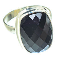 Black Onyx Rings handcrafted by Ana Silver Co - RING53847