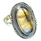 Labradorite Rings handcrafted by Ana Silver Co - RING53892