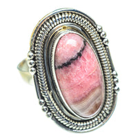 Rhodonite Rings handcrafted by Ana Silver Co - RING54008
