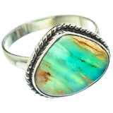 Peruvian Opal Rings handcrafted by Ana Silver Co - RING54093