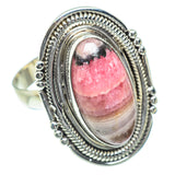 Rhodonite Rings handcrafted by Ana Silver Co - RING54270