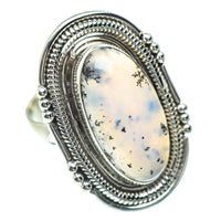 Dendritic Opal Rings handcrafted by Ana Silver Co - RING54331