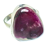 Ruby Fuchsite Rings handcrafted by Ana Silver Co - RING54453
