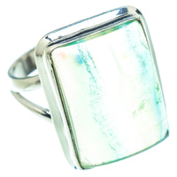 Green Fluorite Rings handcrafted by Ana Silver Co - RING54667