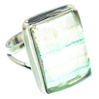 Green Fluorite Rings handcrafted by Ana Silver Co - RING54682