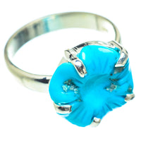 Arizona Turquoise Rings handcrafted by Ana Silver Co - RING54689