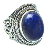 Lapis Lazuli Rings handcrafted by Ana Silver Co - RING55695