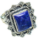 Lapis Lazuli Rings handcrafted by Ana Silver Co - RING56026