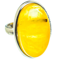 Baltic Amber Rings handcrafted by Ana Silver Co - RING58364