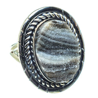 Desert Druzy Rings handcrafted by Ana Silver Co - RING58632