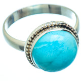 Larimar Rings handcrafted by Ana Silver Co - RING6635