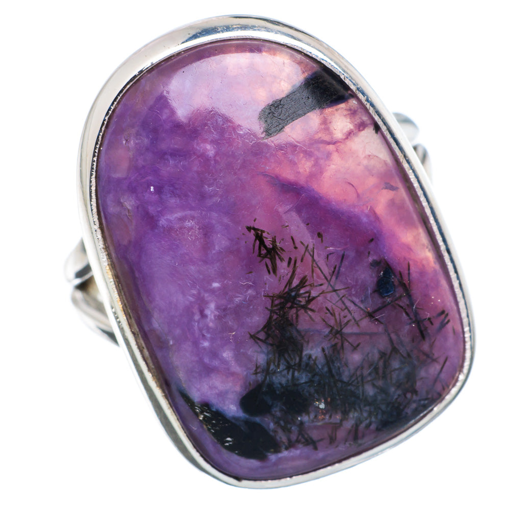 Charoite Rings handcrafted by Ana Silver Co - RING889233