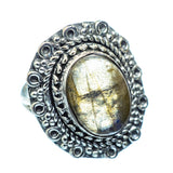 Labradorite Rings handcrafted by Ana Silver Co - RING979638