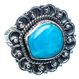 Larimar Rings handcrafted by Ana Silver Co - RING982744