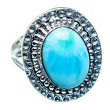 Larimar Rings handcrafted by Ana Silver Co - RING985425